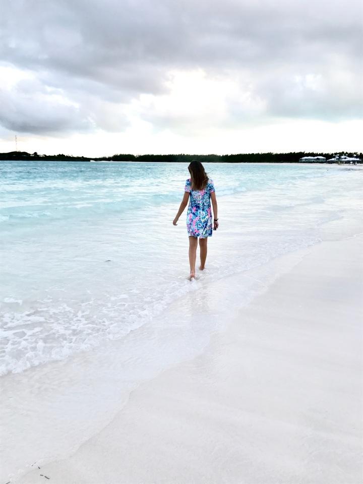 Lilly Pulitzer on Emerald Bay Beach + Revealing My NextTrip!